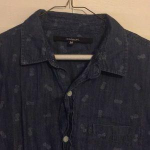 Men's Medium Button Up Shirt